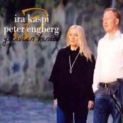 Kahden Hullun Matka - Ira Kaspi ja Peter Engberg Duo (Kirka Cover/Esa Kaartamo)